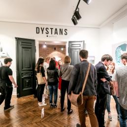 Galeria Dystans w Krakowie - wnętrze